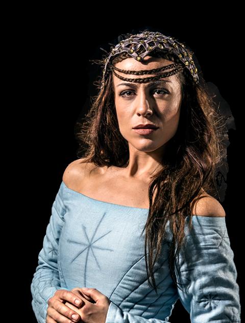 Skuespiller Maria Lucia